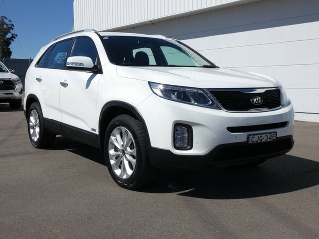 Used Kia Sorento XM MY12 SLi, 2012 Kia Sorento XM MY12 SLi White 6 Speed Sports Automatic Wagon