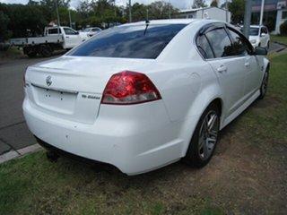 2012 Holden Commodore VE II MY12 SV6 White 6 Speed Automatic Sedan
