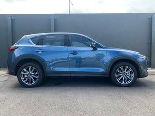 2020 Mazda CX-5 KF4WLA Akera SKYACTIV-Drive i-ACTIV AWD Eternal Blue 6 Speed Sports Automatic Wagon.