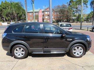 2013 Holden Captiva SX Black Automatic Wagon.