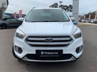 2019 Ford Escape Trend Frozen White Sports Automatic SUV.