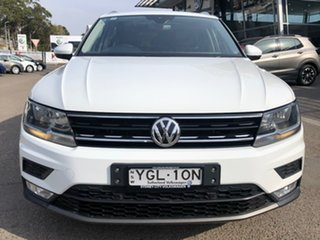 2016 Volkswagen Tiguan 5N MY16 132TSI DSG 4MOTION White 7 Speed Sports Automatic Dual Clutch Wagon.