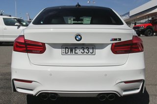 2017 BMW M3 F80 LCI Competition M-DCT White 7 Speed Sports Automatic Dual Clutch Sedan