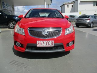 2011 Holden Cruze JH MY12 SRi Red 6 Speed Manual Sedan