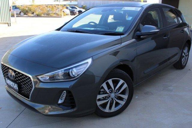 Demo Hyundai i30 PD2 MY20 Active, 2020 Hyundai i30 PD2 MY20 Active Iron Grey 6 Speed Sports Automatic Hatchback
