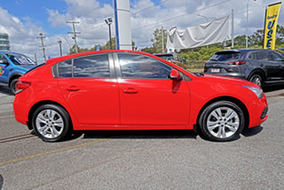 2015 Holden Cruze JH Series II MY15 Equipe Red 5 Speed Manual Hatchback