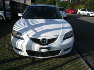 2008 Mazda 3 BK MY08 Neo Sport White 4 Speed Auto Activematic Sedan.
