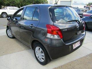 2011 Toyota Yaris NCP90R MY11 YR Grey 4 Speed Automatic Hatchback.