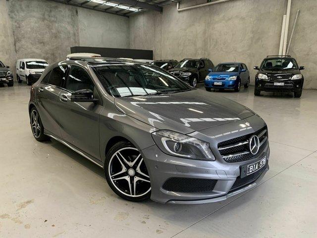 Used Mercedes-Benz A-Class W176 A200 D-CT, 2014 Mercedes-Benz A-Class W176 A200 D-CT Grey 7 Speed Sports Automatic Dual Clutch Hatchback