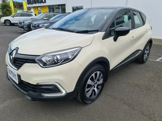 2017 Renault Captur J87 Zen EDC Ivory 6 Speed Sports Automatic Dual Clutch Hatchback.