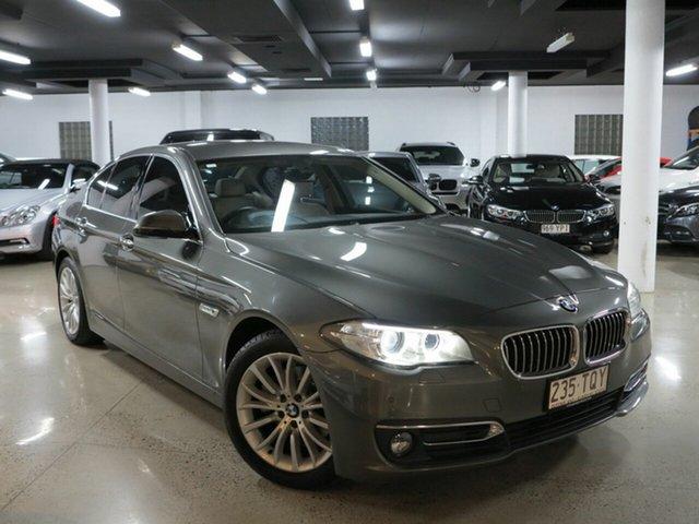Used BMW 5 Series F10 LCI 520d Steptronic Luxury Line, 2014 BMW 5 Series F10 LCI 520d Steptronic Luxury Line Grey 8 Speed Sports Automatic Sedan