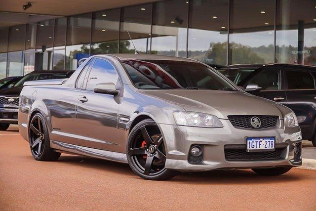 Used Holden Ute VE II SV6 Thunder, 2011 Holden Ute VE II SV6 Thunder Grey 6 Speed Manual Utility