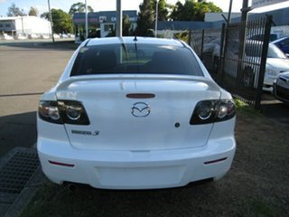2008 Mazda 3 BK MY08 Neo Sport White 4 Speed Auto Activematic Sedan