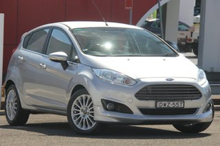 2017 Ford Fiesta WZ Sport PwrShift Silver 6 Speed Automatic Hatchback.