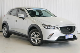 2016 Mazda CX-3 DK2W7A Maxx SKYACTIV-Drive White 6 Speed Sports Automatic Wagon.