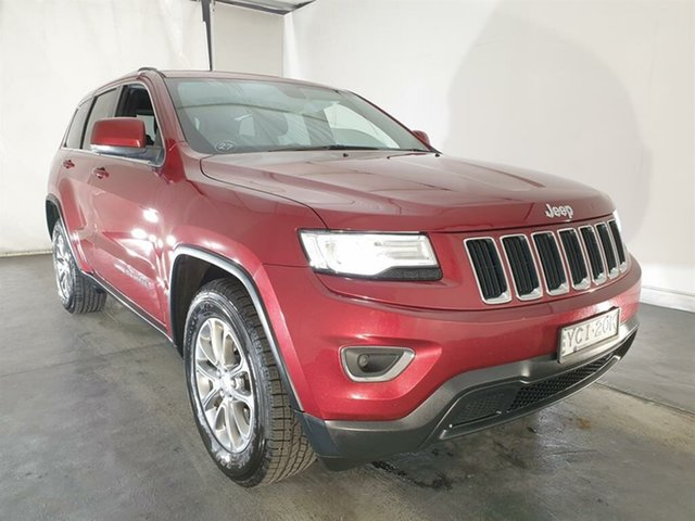 Used Jeep Grand Cherokee WK MY15 Laredo, 2015 Jeep Grand Cherokee WK MY15 Laredo Red 8 Speed Sports Automatic Wagon