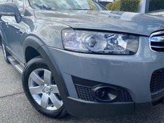 2012 Holden Captiva CG Series II 7 SX Grey 6 Speed Sports Automatic Wagon.