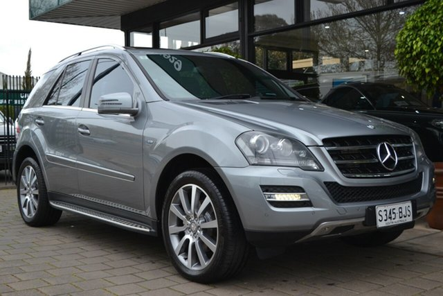 Used Mercedes-Benz M-Class W164 MY11 ML300 CDI BlueEFFICIENCY Grand Edition, 2011 Mercedes-Benz M-Class W164 MY11 ML300 CDI BlueEFFICIENCY Grand Edition Grey 7 Speed