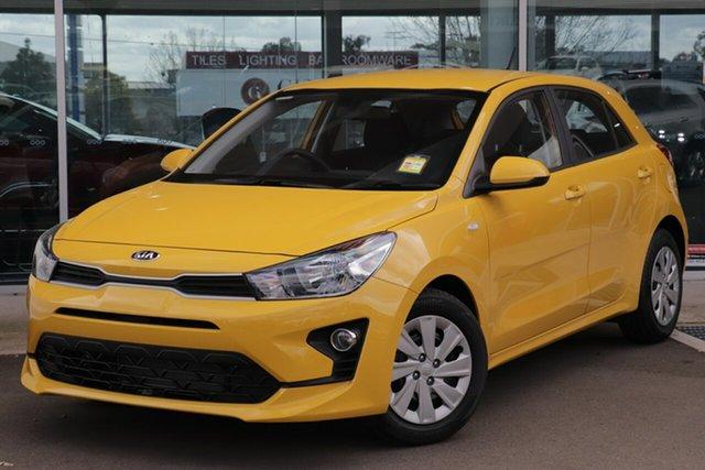 New Kia Rio YB MY21 S Gympie, 2021 Kia Rio YB MY21 S Mighty Yellow 6 Speed Automatic Hatchback