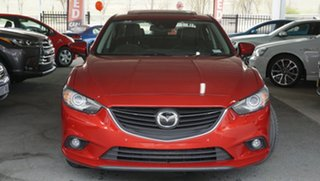 2013 Mazda 6 GJ1031 Atenza SKYACTIV-Drive Red 6 Speed Sports Automatic Sedan.