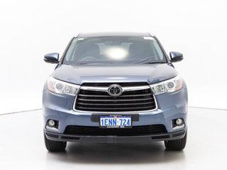 2014 Toyota Kluger GSU50R Grande (4x2) Blue 6 Speed Automatic Wagon.