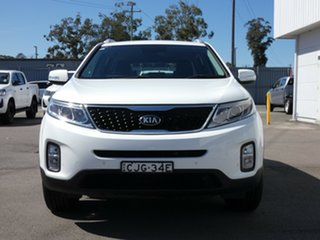 2012 Kia Sorento XM MY12 SLi White 6 Speed Sports Automatic Wagon.