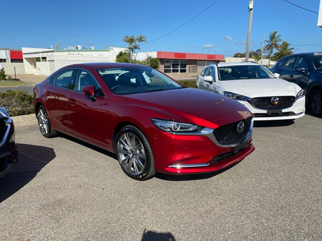 Demo Mazda 6 Gladstone, 2020 Mazda 6 Soul Red Crystal