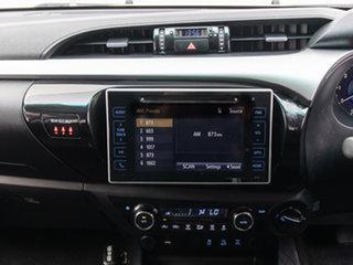 2018 Toyota Hilux GUN126R MY17 SR5 (4x4) Black 6 Speed Automatic Dual Cab Utility