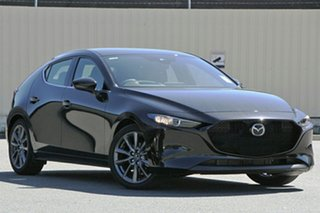 2020 Mazda 3 BP2H7A G20 SKYACTIV-Drive Touring Jet Black 6 Speed Sports Automatic Hatchback.