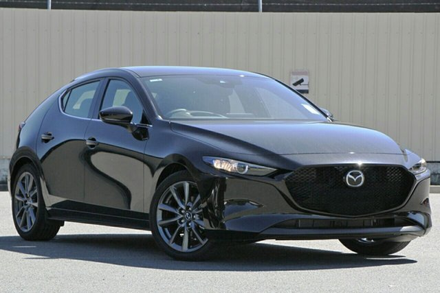 New Mazda 3 BP2H7A G20 SKYACTIV-Drive Touring Liverpool, 2020 Mazda 3 BP2H7A G20 SKYACTIV-Drive Touring Jet Black 6 Speed Sports Automatic Hatchback