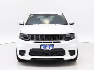 2018 Jeep Grand Cherokee WK MY18 Trackhawk (4x4) White 8 Speed Automatic Wagon.