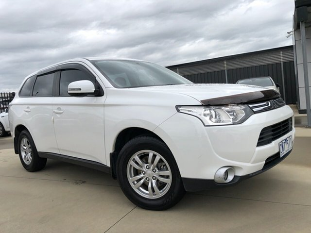 Used Mitsubishi Outlander ZJ MY13 LS 2WD, 2013 Mitsubishi Outlander ZJ MY13 LS 2WD 6 Speed Constant Variable Wagon