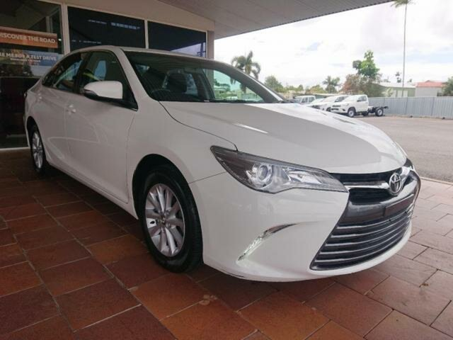 Pre-Owned Toyota Camry ASV50R MY15 Altise Innisfail, 2015 Toyota Camry ASV50R MY15 Altise Diamond White 6 Speed Automatic Sedan
