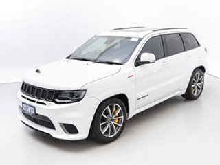 2018 Jeep Grand Cherokee WK MY18 Trackhawk (4x4) White 8 Speed Automatic Wagon