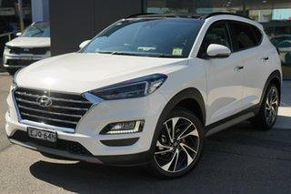 2020 Hyundai Tucson TL3 MY20 Highlander D-CT AWD Pure White 7 Speed Sports Automatic Dual Clutch.