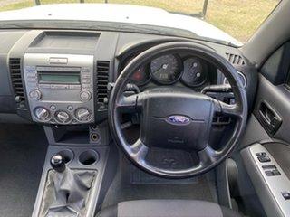 2008 Ford Ranger PJ XL Hi-Rider White 5 Speed Manual Pick Up.