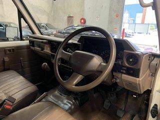 1991 Toyota Landcruiser HZJ75RV Troopcarrier Red 5 Speed Manual Hardtop