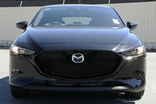 2020 Mazda 3 BP2H7A G20 SKYACTIV-Drive Touring Jet Black 6 Speed Sports Automatic Hatchback