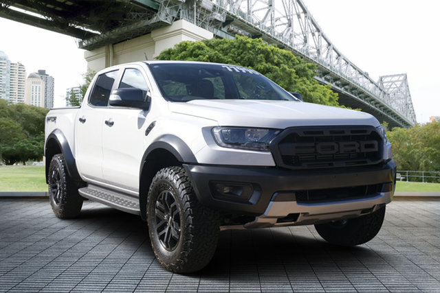 Used Ford Ranger PX MkIII 2019.00MY Raptor, 2019 Ford Ranger PX MkIII 2019.00MY Raptor White 10 Speed Sports Automatic Double Cab Pick Up
