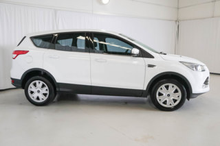 2016 Ford Kuga TF MY16.5 Ambiente 2WD White 6 Speed Sports Automatic Wagon.
