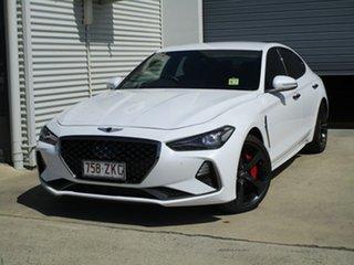 2018 Genesis G70 IK MY19 Sport White 8 Speed Sports Automatic Sedan.