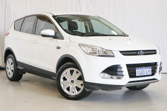 Used Ford Kuga TF MY16.5 Ambiente 2WD, 2016 Ford Kuga TF MY16.5 Ambiente 2WD White 6 Speed Sports Automatic Wagon