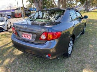 2009 Toyota Corolla Accent Grey Sedan