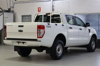 2015 Ford Ranger PX XL 3.2 (4x4) White 6 Speed Manual Double Cab Pick Up