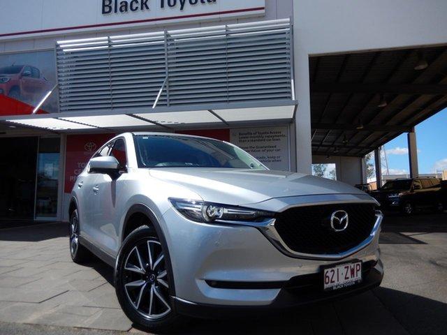Used Mazda CX-5 MY17 GT (4x4), 2017 Mazda CX-5 MY17 GT (4x4) Silver 6 Speed Automatic Wagon