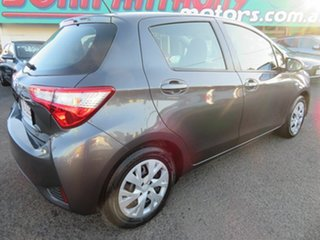 2019 Toyota Yaris NCP130R Ascent Grey 4 Speed Automatic Hatchback