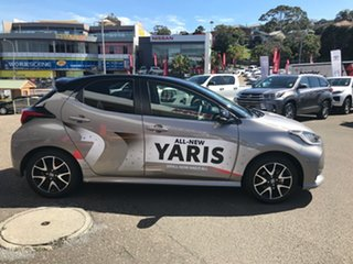 2020 Toyota Yaris Mxpa10R ZR Bronx Bronze - Black Roof 10 Speed Constant Variable Hatchback.