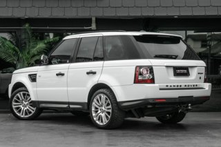 2011 Land Rover Range Rover Sport L320 12MY SDV6 White 6 Speed Sports Automatic Wagon.