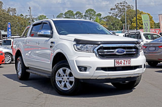 2019 Ford Ranger PX MkIII 2019.75MY XLT White 6 Speed Manual Double Cab Pick Up.