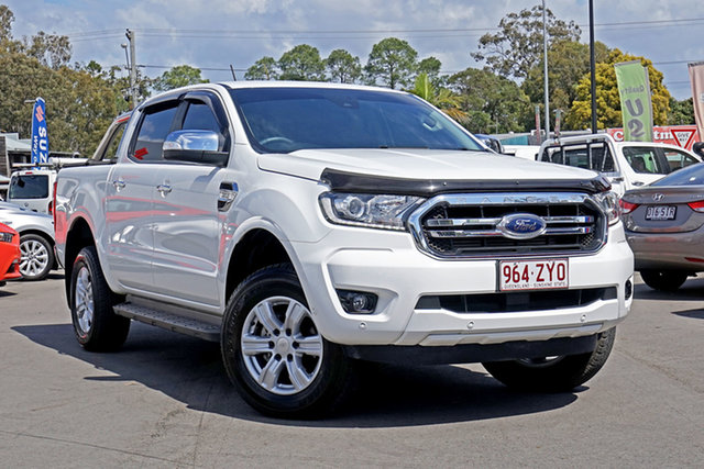 Used Ford Ranger PX MkIII 2019.75MY XLT Chandler, 2019 Ford Ranger PX MkIII 2019.75MY XLT White 6 Speed Manual Double Cab Pick Up